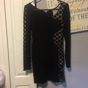 Charlotte Russe size large black dress